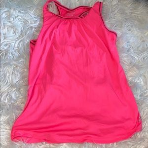 BCG pink athletic tank top
